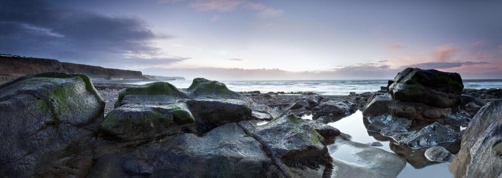 Parton Beach Sunset