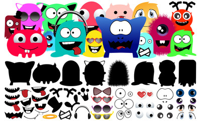 Collection Monster Character