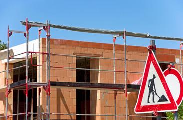construction site house