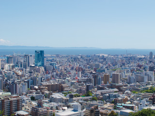 神戸市街(晴天・風景)