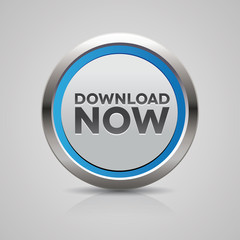 Download now steel blue button