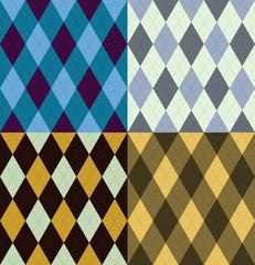 Argyle seamless pattern