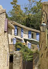 French Village, cottage,shutter,window,flower