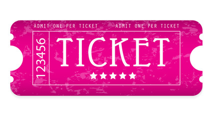 special grunge movie ticket for your website