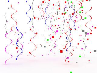 festive background 3d render illustration