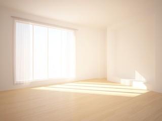 empty bright interior