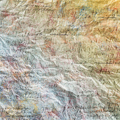 Grunge papers design in scrap-booking style