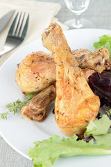 grilled drumsticks chicken