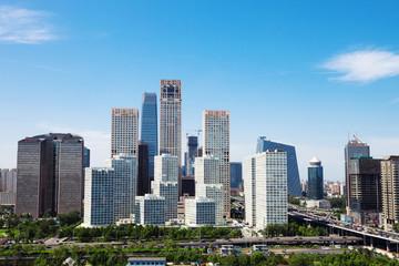 landschap van moderne stad, Peking