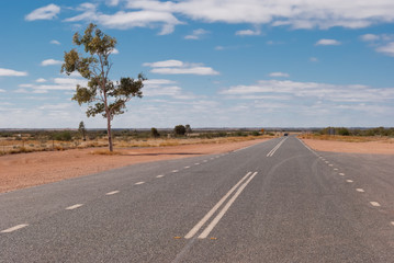 Road in the Australian outback, Northern Territory