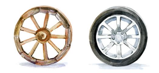 evolution wheel