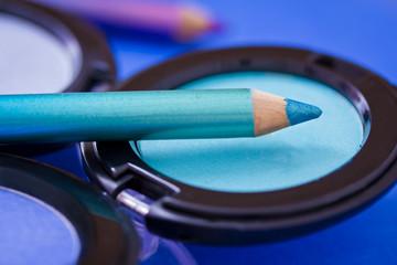 eyeshadow colors and eyeliners, cosmetics