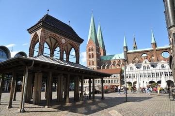 Lübeck, place de l'Hôtel de ville 3