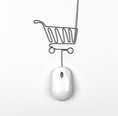 mouse and trolley