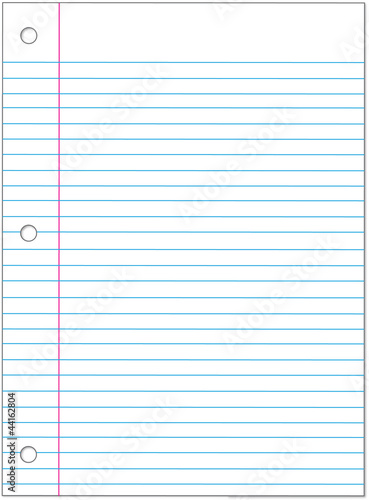 Lined paper to write on online