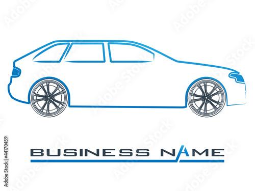 Wall mural Automobil - Logo, Symbol