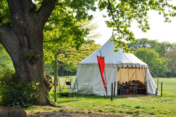 Medieval lifestyle tent