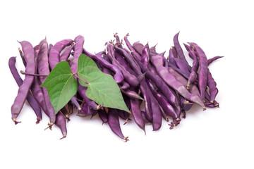 purple haricots