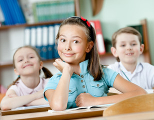 Pupils are happy to attend classes