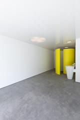 Bathroom in new modern hotel room