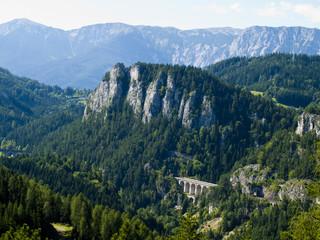 Semmeringbahn in Austria