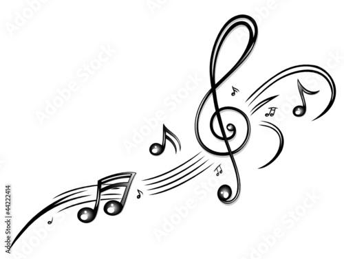 """noten, notenschlüssel, musiknoten, musik"" stockfotos und"