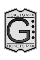 Ticket Stub G