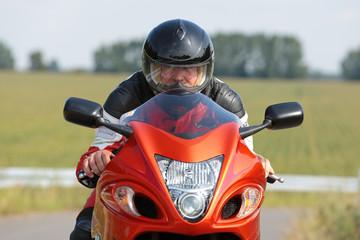 Fotomurales - Motorradfahrer
