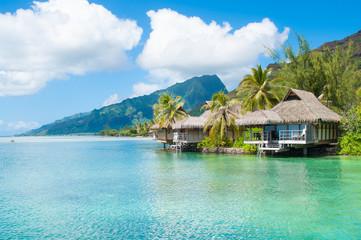 Bungalows in Tahiti