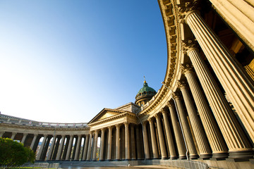 Kazan Cathedral in St.Petersburg, Russia
