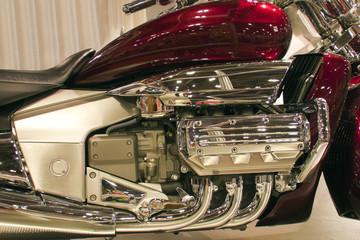 Shiny Motorbike