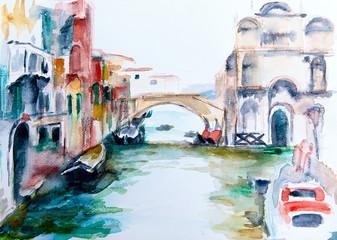 Venedig - Aquarell II