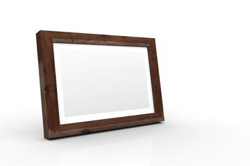3D Holz-Bilderrahmen - Eiche alt