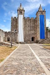 Castelo de Santa Maria da Feira bei Aveiro, Portugal