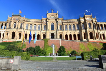 Maximilianeum Bayerischer Landtag