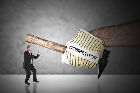 Major business challenge - business concept