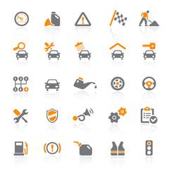 25 Web Icons - Car Service