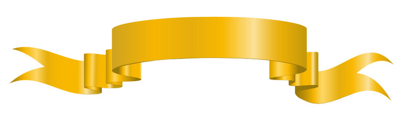 Banderole, Banner, Gelb, Gold, Heraldik, Band, Fahne, Jubiläum