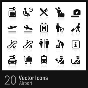 20 Airport Icons