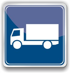 panneau camion