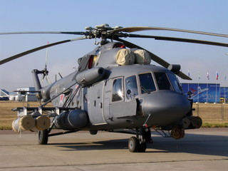 Mi-8 helicopter