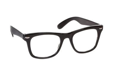 Nerd Brille freigestellt