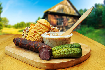 Traditional Polish food