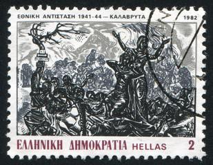 Sacrifice of inhabitants of Kalavrita