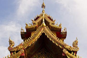 Ubosot in Wat chaimongkol