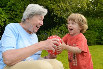 Granny Playing with Kid 6