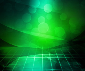 Dark Green Abstract Background Image