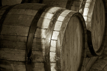 Wine or beer tuns
