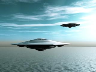 Alien Raumschiffe