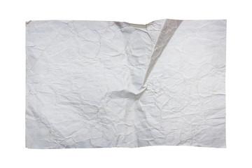 Blank old paper sheet